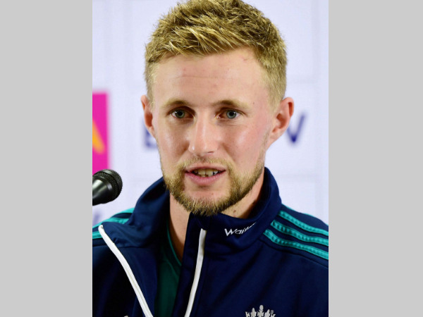 Joe Root speaks to the media in Bengaluru on Tuesday (January 31)