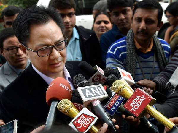 Kiren Rijiju reviews flood situation in affected districts of NE