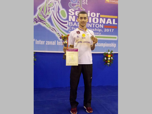 Lakshya Sen (Image courtesy: Olympic Gold Quest Twitter handle)
