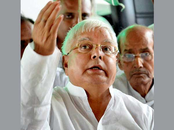 Modi not fit to be PM: Lalu