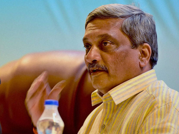 Union Defence Minster Manohar Parrikar