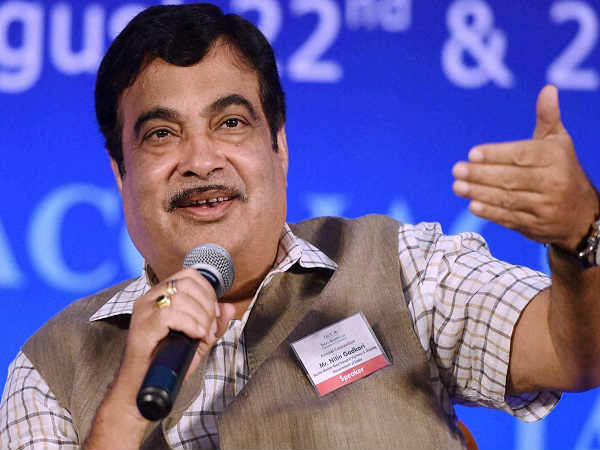 Union water resources minister Nitin Gadkari