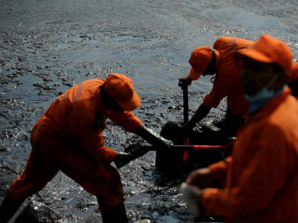 Chennai oil spill: Clean-up nears completion 5 days after cargo ship collision