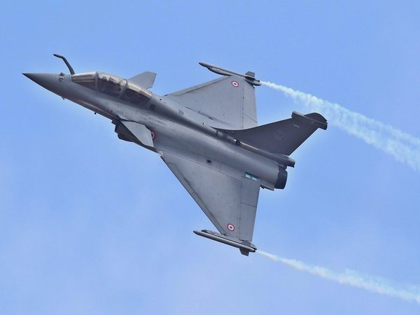 Rafale fighter aircraft at Aero India 2017