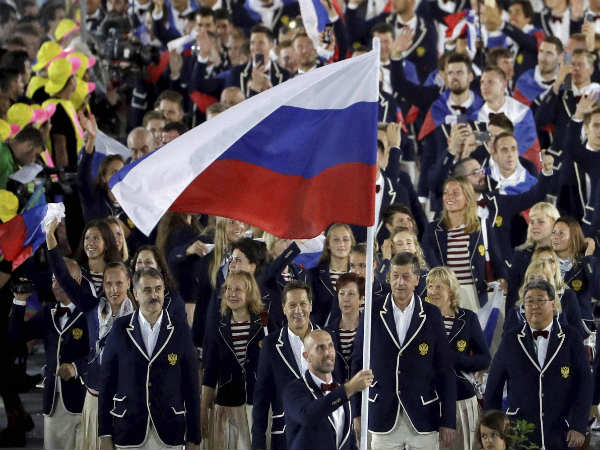 File photo: Russian contingent at Rio Olympics 2016