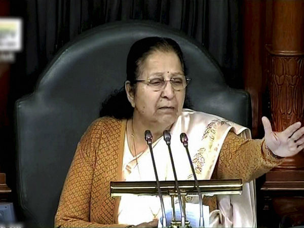 Never sought ticket in three decades says Sumitra Mahajan