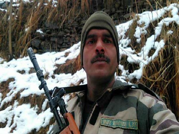 File photo of Tej Bahadur Yadav