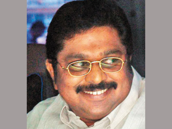 File photo of Sasikala Natarajan's nephew TTV Dinakaran.