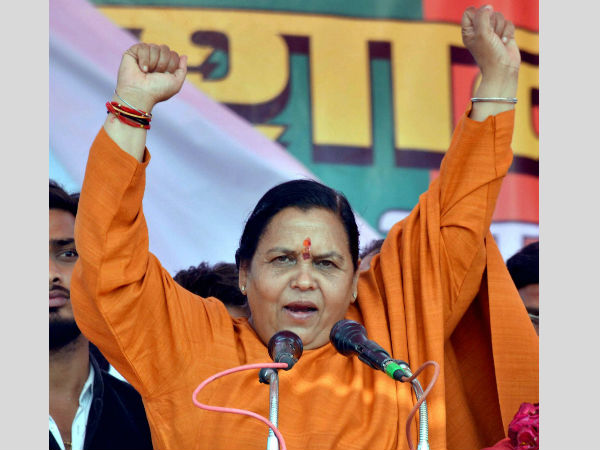 Uma Bharti's punishement for rapists-put chilli powder on their wounds