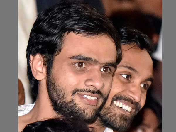 File photo of JNU student Umar Khalid