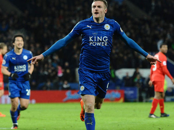 Jamie Vardy (Image courtesy: Leicester City Twitter handle)