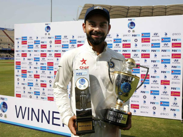 Virat Kohli credits fellow teammates for helping him become a 'good' captain