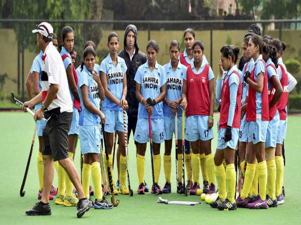 File photo: Indian women's Hockey team