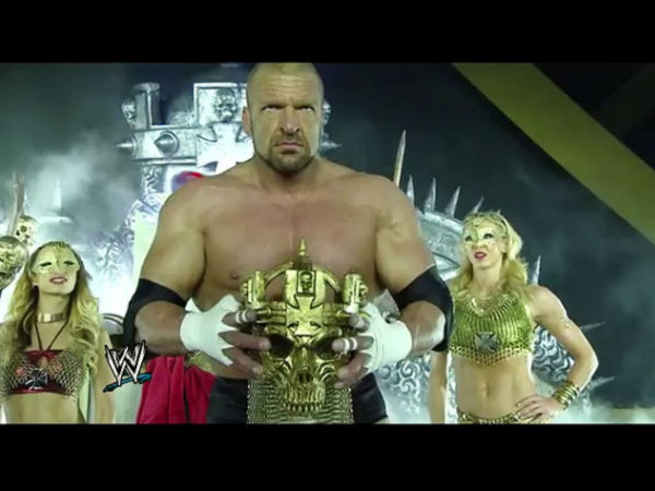 Triple H intends to take retirement (image courtesy Youtube)