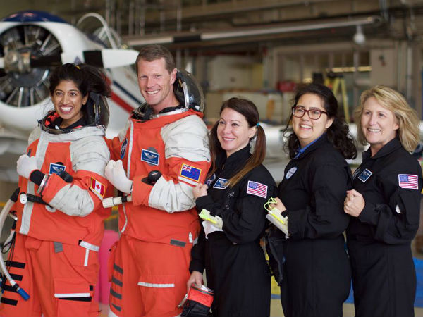 Not a part of NASA mission, astronaut Shawna Pandya