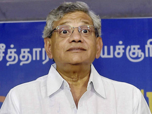 Threat of violence is RSS' only weapon, says Sitaram Yechury