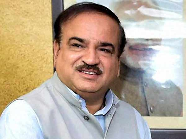 Parliamentary Affairs Minister Ananth Kumar