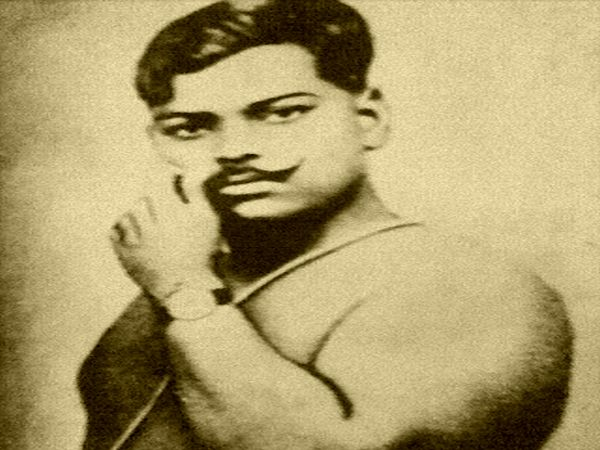 A file photo of Chandrashekhar Azad