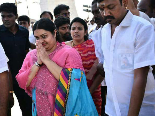 Jayalalithaa's niece launches new party 'MGR Amma Deepa Peravai'