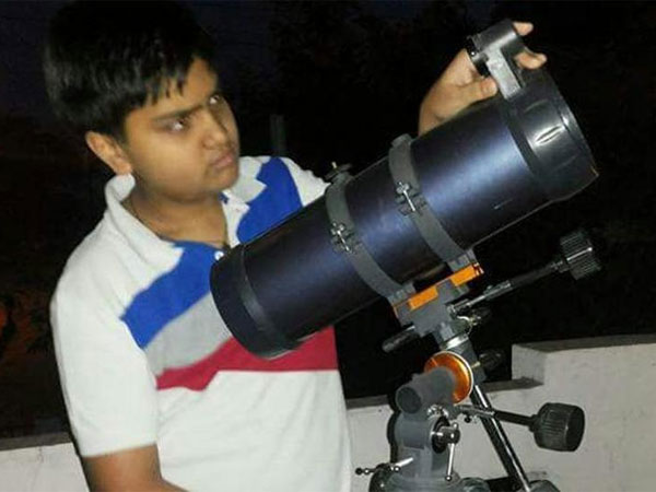 Shubh aspires to be an astro-physicist