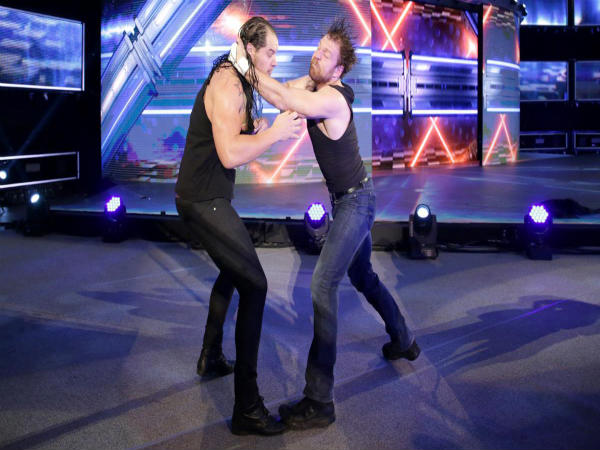 Baron Corbin (left) and Dean Ambrose (Image courtesy: wwe.com)