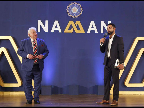 Kohli speaks after getting Polly Umrigar Award 2015-16