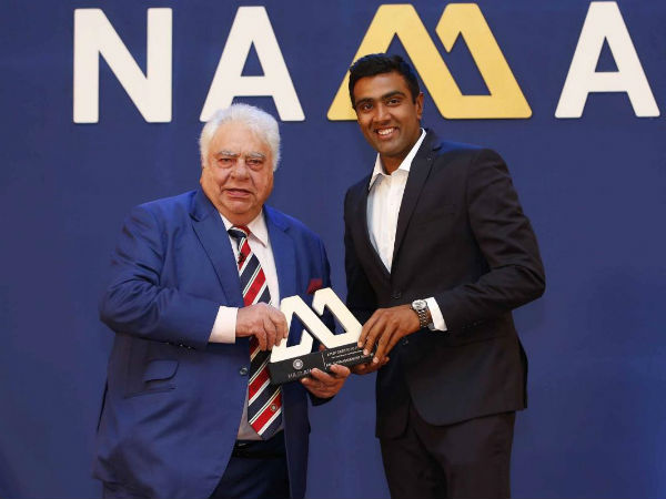 Ashwin gets BCCI 2015-16 award