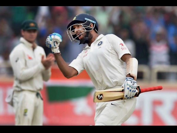Pujara slams second Test double against Australia