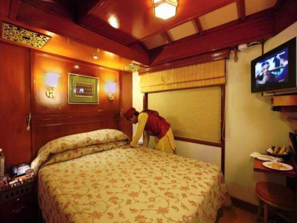 Interiors of palace on wheels