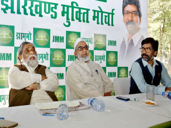 JMM writes to EC about Modi's visit before by-poll