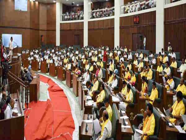 AP Assembly Winter Session commenced without Opposition Party
