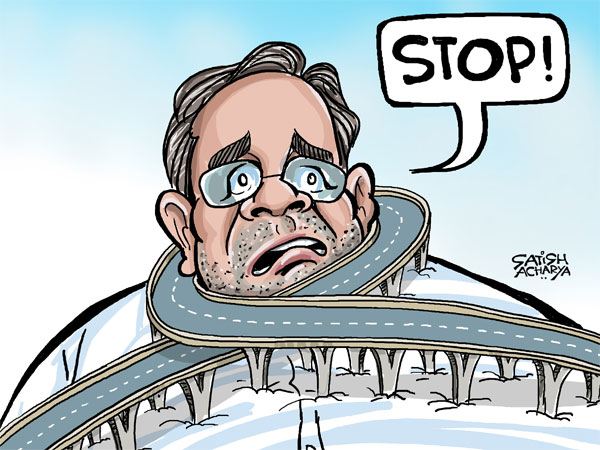 Steel flyover turns noose around Siddaramaiah's neck