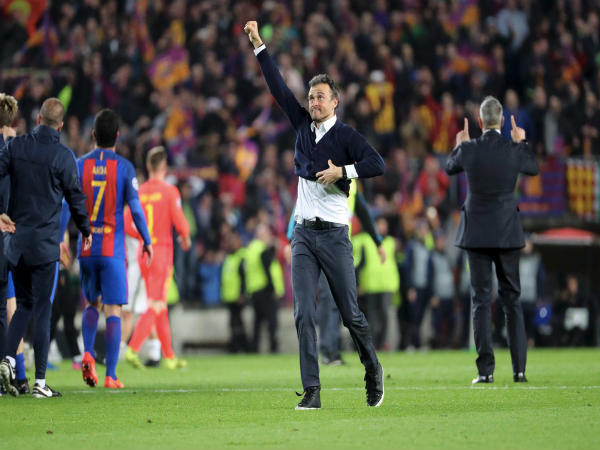 A crazy night no kid at Camp Nou will ever forget, says Luis Enrique