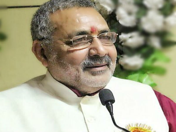 Union Minister Giriraj Singh. PTI file photo
