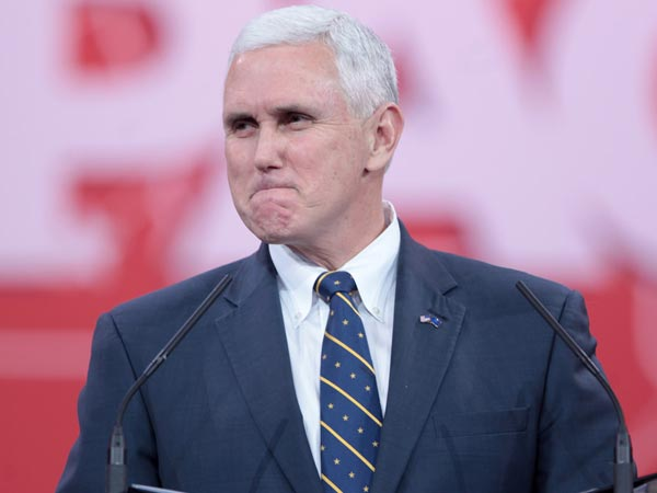 File photo of US Vice President Mike Pence