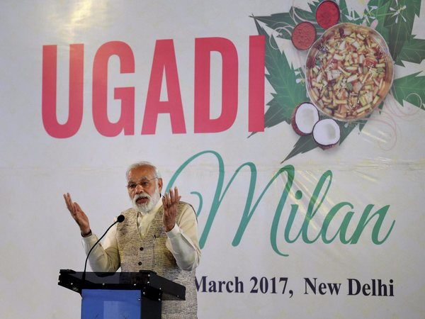 Nation celebrates Navratri, Modi begins nine-day fast