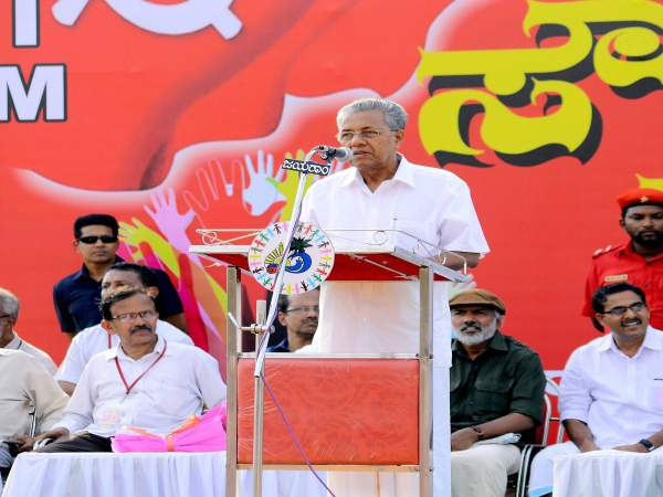Kerala Chief Minister and senior CPI-M leader Pinarayi Vijayan
