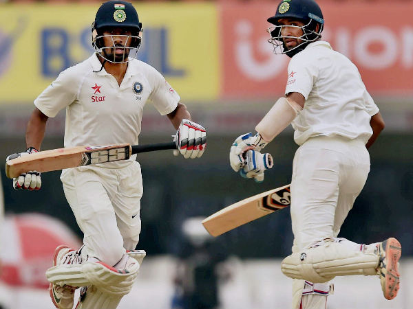 File photo: Wriddhiman Saha (left) and Cheteshwar Pujara