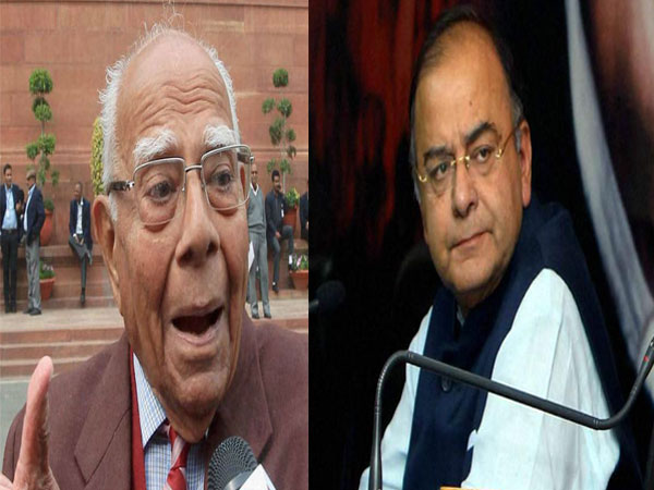 It was Jaitley vs Jethmalani in court