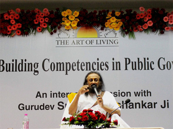Art of Living Guru Sri Sri Ravishankar