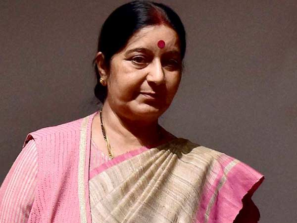 Sushma urged to save 29 T'gana workers