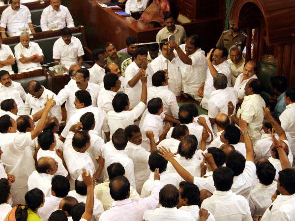 DMK's 'no confidence' motion against TN speaker fails