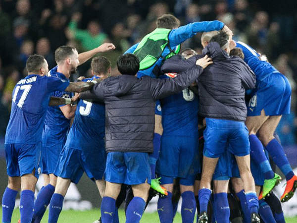 PHOTOS: UCL - Leicester lone flag-bearer for England, Juventus, Atletico qualify