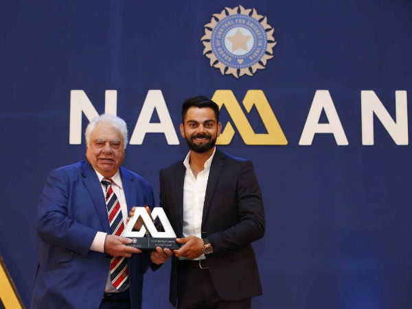 PHOTOS: Virat Kohli, Ravichandran Ashwin win hearts at BCCI Awards Night in Bengaluru