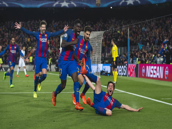 Three Two-Legged Champions League Comebacks To Rival Barcelona's Win Over PSG
