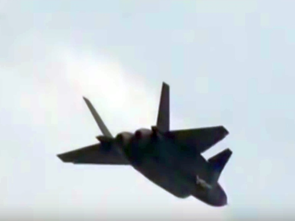 China to ramp up navy patrols as stealth jet enters service