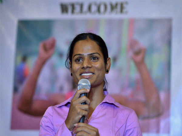 File photo: Dutee Chand