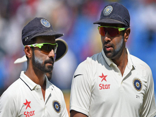 File photo: Ajinkya Rahane (left)