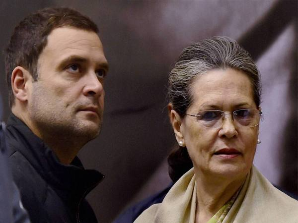 Sonia Gandhi & Son Rahul Return to India From US