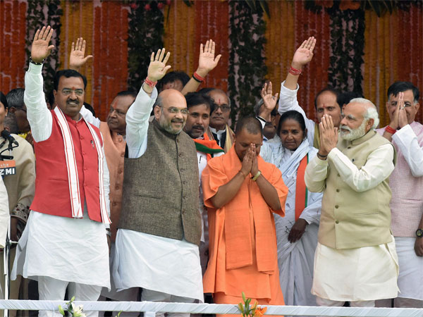 Over breakfast, PM Modi, Shah discuss UP politics with BJP MPs